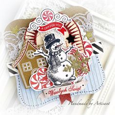 December 11, On October 3rd, Beautiful Christmas Cards, Christmas Tag, Prima Planner, Marion Smith, Halloween 6, Heidi Swapp, Cardmaking