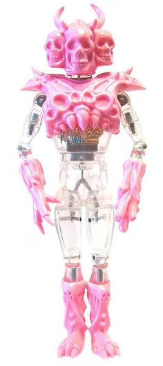 PAINT IT PINK! by SKULL TOYS