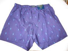 Polo Ralph Lauren underwear men's classic fit boxer shorts logo M R382HR Purple #PoloRalphLauren #ClassicFitBoxershorts
