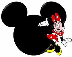 Siluetas de la cabeza de Minnie con lindas ilustraciones. Disney Mickey Mouse, Minnie Mouse Theme, Mickey Head, Mickey Minnie Mouse, Minnie Mouse Clubhouse, Minnie Mouse Pictures, Unicorn Images, Mikey Mouse, Oh My Fiesta