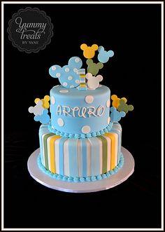 Baby MIckey Cake!