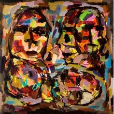 Anas Homsi (B. 1987, Syria), Happy Family from Effect series, est.: £4,000 - 6,500