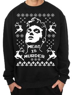 095dabbc152 Morrissey Holidays Crewneck Sweater by cristocat on Etsy The Smiths Merch