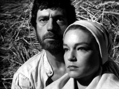 Yves Montand and Simone Signoret in Les sorcières de Salem directed by Raymond Rouleau, 1957