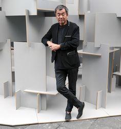 kengo kuma tells us about his 'habitable forest' pavilion at AMD 2014