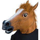 $11.99 XIAO MO GU Halloween Costume Party Latex Animal Horse Head Mask deals
