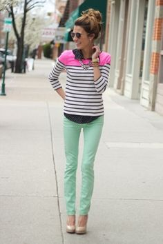 Love it/ Need mint pants.