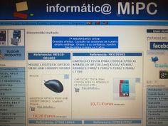 Servicios Informaticamipc: INFORMATIC@ MIPC TU TIENDA DE INFORMÁTICA ON-LINE