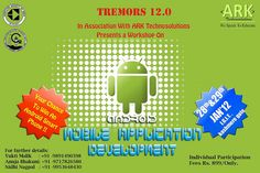 Workshop on ANDROID Mobile...