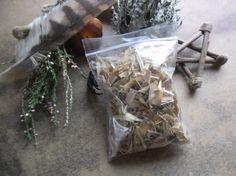 Honeysuckle Bark  incense spells magic pagan by wildwizardcrafts, £2.99
