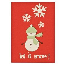Christmas Cards Let It Snow