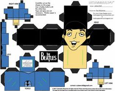 Beatles cubees for music display?