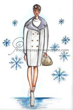 Sketch Céline Autumn/Winter 2013/14 #fashion #illustration #sketches