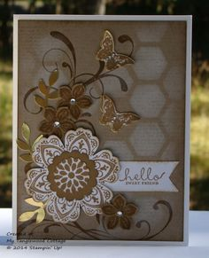 Mixed Bunch, Petite Petals © Stampin' Up! @ My Tanglewood Cottage