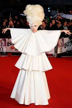 Lady Gaga Outfits, Fashion, Style, Dresses 2009 to 2012 (Vogue.com UK)