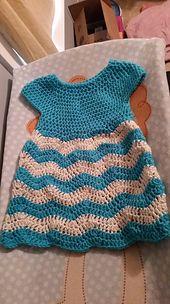 Ravelry: hill326's Chevron Chic Baby Dress