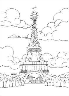 Paris et sa tour Eiffel - Pinlhouse Tour Eiffel Delaunay, France For Kids, Foto Paris, A Day In Paris, Museum Education, Numbers For Kids, World Thinking Day, Paris Pictures, Visit France
