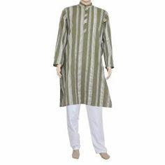 Men clothing indian kurta pajama set cotton loose fit Chest: Size 44 Inches