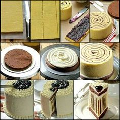 pásikavá torta (džem, nutela)