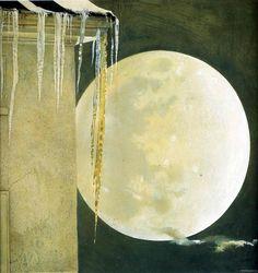 Moon Madness ~Andrew Wyeth