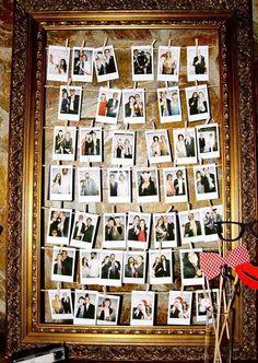 44 Creative Ways To Use Polaroid for Your Wedding   HappyWedd.com