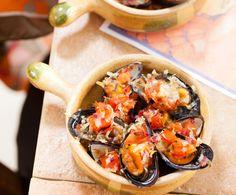 Recept: Gegratineerde mosselen - Scalloped mussels