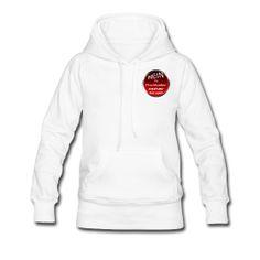 Damen-Kapuzenpullover, weiß, S - XXL | Spreadshirt  http://nein-zu-dkzv.spreadshirt.de/customize/noCache/1