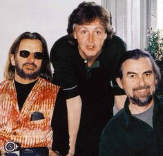 Ringo Starr, Paul McCartbey, and George Harrison (The Threetles) by the time of Anthology (1995-1997).