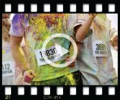 Color Run 5K.  This looks so fun!  @Courtney Teeters King we need to do this in Nashville! @Jennifer Freeman, YES!