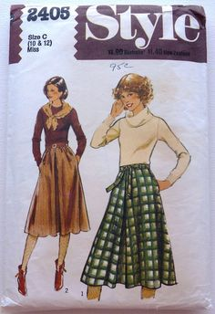 Inverted Pleat Skirts Sewing Pattern Size by AnnaMareeCreatively
