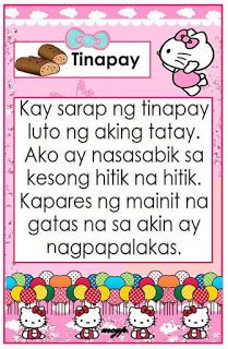 Practice reading with these Tagalog Reading Passages. These can be useful for remedial instruction, used as reading charts for your readin. Free Reading Comprehension Worksheets, 1st Grade Reading Worksheets, Grade 1 Reading, Kindergarten Reading Activities, Kids Reading, Teaching Reading, Kindergarten Poems, Reading Charts, Learning