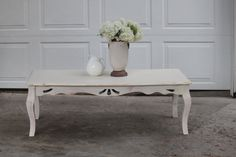 shaby chic furniture | Shabby Chic Coffee Table} — Vintage Farm Furniture
