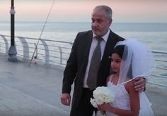 Child bride. She's 12. He's 60 and they just got married. Every day there are over 37,000 marriages involving a minor in the world with the majority of the marriages taking place in islamic Arab countries, India and parts of Africa. (11/27/16)