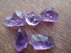 Gorgeous Raw Amethyst  5 Natural Rough Purple by magicgemsbox