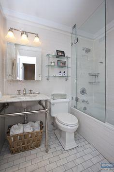 20 East 35th St. #2E   Co Op Apartment Sale At Goodhue House · Subway Tile  BathroomsBathroom TilingSubway ...