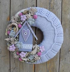 Lilianna - hamvas őszi ajtódísz, Otthon, lakberendezés, Dekoráció, Meska