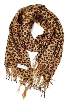 Animal Print Fringed Shoulder Pashmina Wrap Scarf - Leopard Zebra Patterns: New with tags, packaged Measures: x L With hand knotted fringe tassels on each end Perfect for Women and men Super soft feel - Great Value Leopard Print Scarf, Animal Print Scarf, Zebra Print, Fringe Scarf, Scarf Wrap, Mens Cashmere Scarf, Pashmina Wrap, Brown Leopard, Outfits