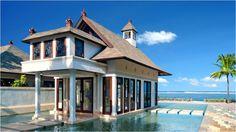 List of villas on water in Bali.