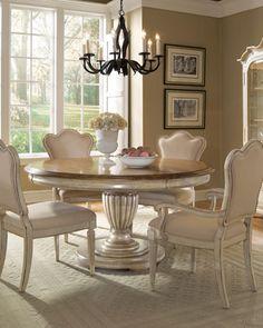 """♥•レo√乇♥ """"Brannon"""" Dining Room Furniture at Horchow."""