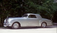 1958 Fixed-head Coupé by H.J. Mulliner (chassis LSED91, body 6061, design 7458) for Helmut Horten