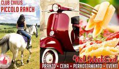 Il Weekend Al CLUB CIVILIS PICCOLO RANCH http://affariok.blogspot.it/