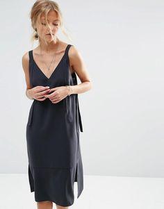 ASOS | ASOS Dungaree Style Slip Dress at ASOS