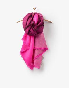 Berkley True Pink Scarf , Size One Size | Joules US