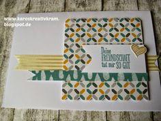 "Karos Kreativ Kram: Karten mit dem ""MOONSHINE"" DS-Papier im Block"