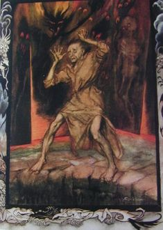 Poe's Tales of Mystery and Imagination, signed by illustrator Arthur Rackham