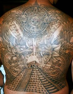 Mexican Style Tattoos Mexican Tattoos Aztec Tattoo Designs within proportions 821 X 1024 Mexican Back Tattoos - Since your back is the flattest and widest Tribal Chest Tattoos, Tribal Shoulder Tattoos, Geometric Tattoos, Arm Tattoos, Sleeve Tattoos, Symbol Tattoos, Aztec Tattoo Designs, Name Tattoo Designs, Aztec Designs