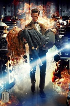 Doctor Who Photo: 11th Doctor and Amy