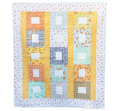 Good Natured by Marin Sutton for Riley Blake Designs: Free Quilt Pattern #rileyblakedesigns #freequiltpattern #marinsutton #goodnatured