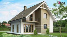 Skoraj nič-energijska hiša (NZEB – Nearly Zero Energy Building) Bungalow Haus Design, Modern Bungalow House, Bungalow Homes, House Design, Style At Home, Future House, My House, Duplex House Plans, Facade House