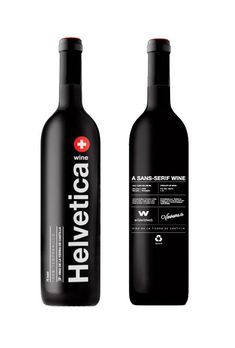 Helvetica Wine. Yay or Nay?